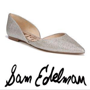 Sam Edelman • Rodney Metallic Pointed toe flats